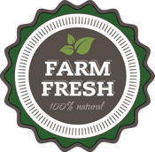 Farm Fresh | 100% Natural