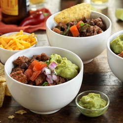 Hearty Steak & Bean Chili
